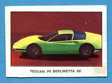 AUTO 1970 ? - Figurina-Sticker - FERRARI P6 BERLINETTA SP