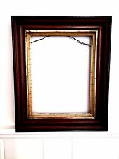 East Lake Antique Gilt Mirror Painting Art Wooden Wood Frame Ornate Gold Wall