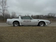 1980 Pontiac Trans Am Official Pace Car with T-Tops