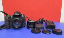 Nikon D700 12.1 MP Full Frame Digital SLR Camera w/ Lens and Extensions