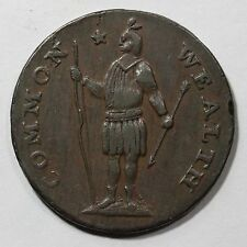 1788 12-m R-4 Stout Indian Massachusetts Cent Colonial Copper Coin