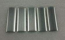 Lot of 10 individual aluminum heat sinks
