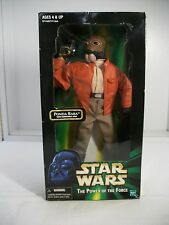 STAR WARS PONDA BABA 12 INCH Power of the Force HASBRO 1998 With Removable Arm