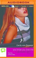 Gossip Girl: You Know You Love Me 2 by Cecily von Ziegesar (2015, MP3 CD,...