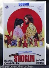 "Shogun Movie Poster 2"" X 3"" Fridge Magnet. Richard Chamberlain Toshiro Mifune"