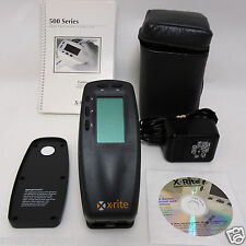 X-Rite 530 Color Spectrophotometer Densitometer XRGA and Panton color Xrite 530