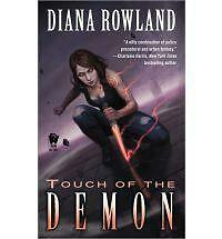 Touch of the Demon (Kara Gillian) Rowland, Diana Mass Market Paperback