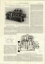 1914 Record Engineering Eccles Two Cycle Petrol Electric Lighting Set