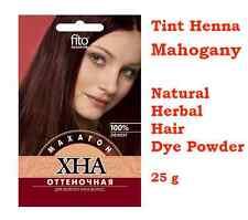 Tint Henna – Mahogany - Natural Herbal Hair Dye Powder - 25 g