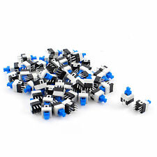 100Pcs 6 Pin Square 7mmx7mm Momentary DPDT Mini Push Button Switch