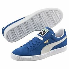 PUMA SUEDE CLASSIC SKATE olympian blue/WHITE MENS SNEAKER/SHOES 12