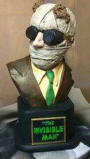 THE INVISIBLE MAN CIPRIANO 1/3 SCALE BUST FULLY PAINTED