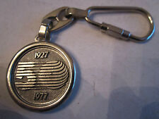 1977 IBERIA LINEAS AREAS DE ESPANA 50TH ANNIVERSARY KEY RING - BBA4