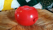 Tupperware Tomato Keeper 6582A-1 Red EUC