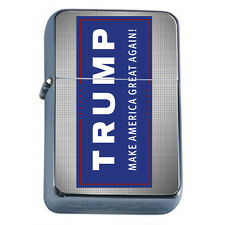 President Donald Trump 2016 D2 Windproof Refillable Flip Top Oil Lighter