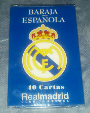 Baraja Española del Real Madrid_40 Cartas_New Sealed