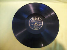 Bing Crosby - Baby Won't You Please Come Home - That Little - Decca 78 - E+