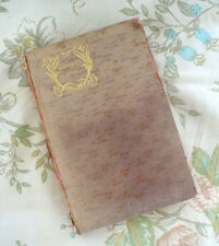 Old Antique Robert Burns Book Selected Poems Hardcover Poetry Original Scotland