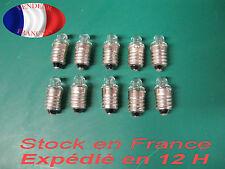 2.2V 0.25A Ampoule E 10 Bulb le lot de 10