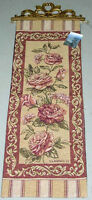 Vintage Elegance Roses Tapestry Wall Hanging Panel