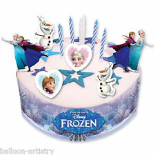 19 Piece Disney's FROZEN Ice Skating Party Birthday Cake Decorating Kit Set