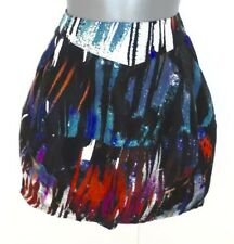 Stunning Spotlight by Warehouse Expressionist Art Mini Evening Occasion Skirt 10