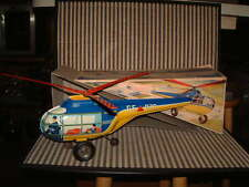 1953 TECHNOFIX NR. 273 TIN HUBSCHRAUBER (HELICOPTER 2ND GEN) WORKING W/BOX!!