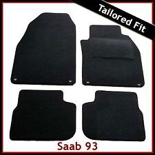 Saab 93 Tailored Carpet Car Mats NEW (2002 2003 2004 2005 2006..2009 2010 2011)