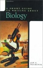 A Short Guide to Writing about Biology (4th Edition) Pechenik, Jan A. Paperback