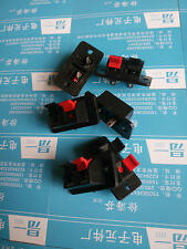 10 Pcs 2 Way Spring Push Release Connector Speaker Terminal Strip Block