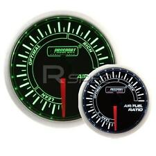 Prosport 52mm Super Smoked Green / White Air Fuel Ratio AFR Gauge