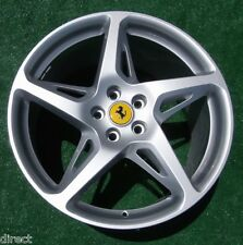 1 Authentic Genuine Original OEM Factory Ferrari 458 20 by 10.5 inch REAR WHEEL