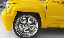 JADA 1/24 SCALE WHEELS FOR UPGRADING FITS CHEVY AVALANCHE STYLE #2011402