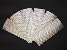 "3M 6 STRIPS  3"" x 8"" WHITE HIGH INTENSITY PRISMATIC REFLECTIVE CONSPICUITY TAPE"