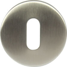 Hafele brushed steel escutcheon standard keyway for concealled fixing