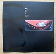 JAGUAR XK8 1996 UK Mkt Large Format Sales Brochure - The Cat is Back