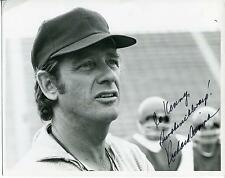 RICHARD CRENNA ACTOR THE REAL MCCOYS & RAMBO FIRST BLOOD SIGNED PHOTO AUTOGRAPH
