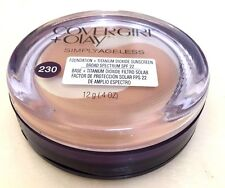 NEW - CoverGirl & Olay Simply Ageless Foundation SPF 22 # 230 Classic  Beige
