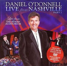 DANIEL O'DONNELL Live From Nashville Part 2 UK 2012 CD+DVD NEW / UNPLAYED