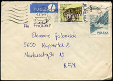 Poland 1979 Cover To Germany #C21189
