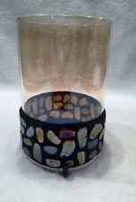 AURORA CANDLE SLEEVE BEAUTIFUL NEW LOOK REVERSIBLE PARTYLITE PILLAR JAR CDL. NIB
