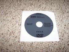 2009 Lincoln Navigator Truck Shop Service Repair Manual DVD L 5.4L V8 4WD