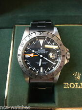 "Rolex 1655 Explorer Steve McQueen With Rolex Papers ""VERY RARE"""
