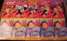 Lot of 10 VHS Tapes - 5 LUCILLE BALL & 5 RED SKELTON