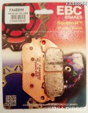 Honda CB1000R / RA (2009 to 2015) EBC Sintered REAR Brake Pads (FA488HH) (1 Set)