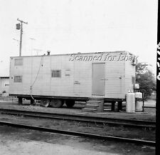 PRSL Maintenance Trailer Ocean City New Jersey ORIGINAL PHOTO NEGATIVE-Railroad