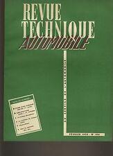 (C3B)REVUE TECHNIQUE AUTOMOBILE DYNA PANHARD / CITROEN 2CV