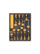 Beta Tools 2450M208 10Pc Screwdriver Set in Foam Tray