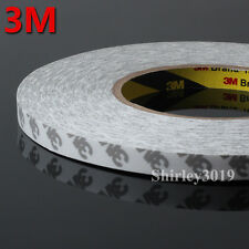 1X 8mm*50M 3M 9080 Hi-Temp Doubled Sided Tape for Phone, PC, DVD, Auto Case, LED