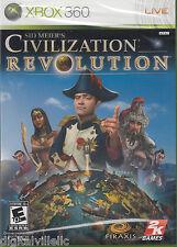 Sid Meier's Civilization Revolution Xbox 360 Brand New Sealed